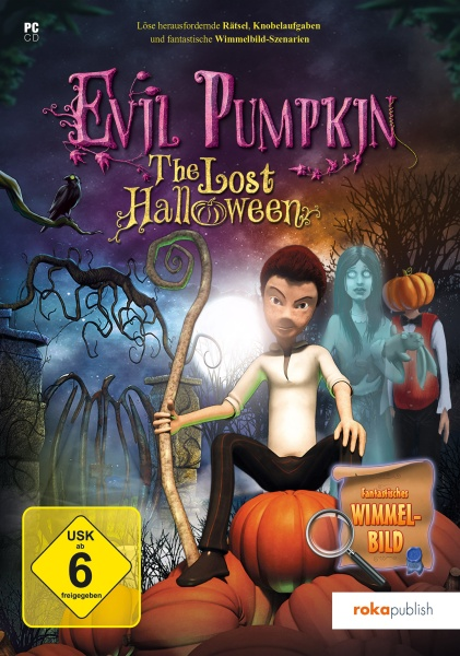 Evil Pumpkin - Halloween Wimmelbild Adventure (PC)