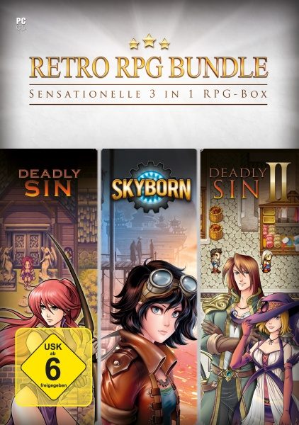 Retro RPG Bundle - 3 in 1 RPG Box (PC) Englisch
