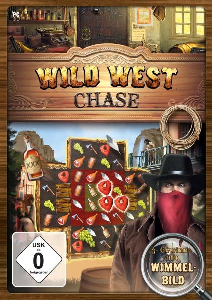 Wild West Chase - Wimmelbild - 3 Gewinnt Abenteuer (PC)