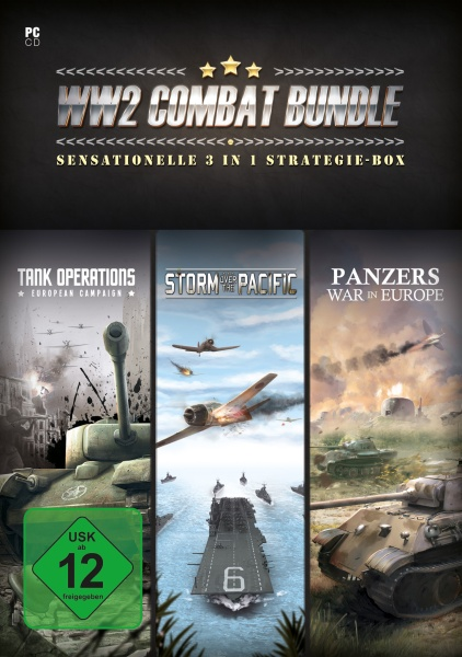 WW2 Combat Bundle - 3 in 1 Strategie Sammlung (PC)