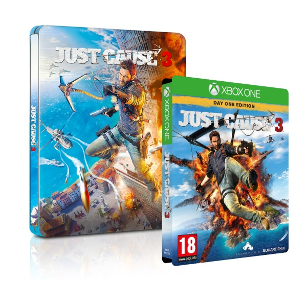 Just Cause 3 (Steelbook) (XONE)