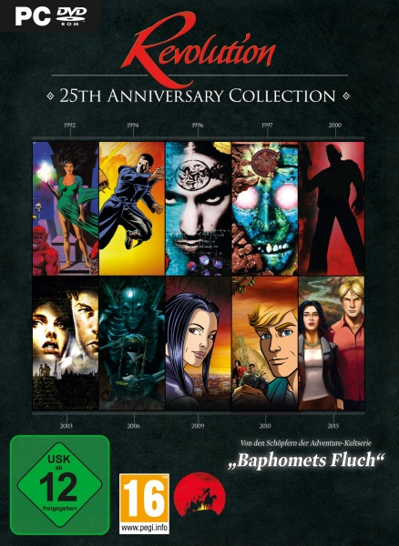 Baphomets Fluch / Revolution 25th Anniversary Collection (PC) Englisch