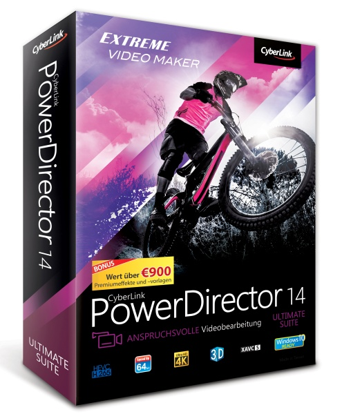 Cyberlink PowerDirector 14 Ultimate Suite