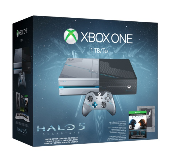 Xbox One 1TB Halo 5 Premium Limited Edition Bundle