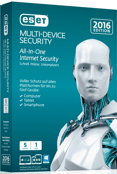 ESET Multi Device Security 2016 5User Box