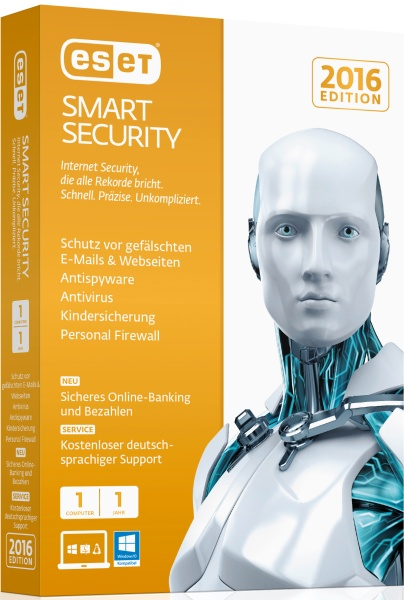 ESET Smart Security 2016 1User Box