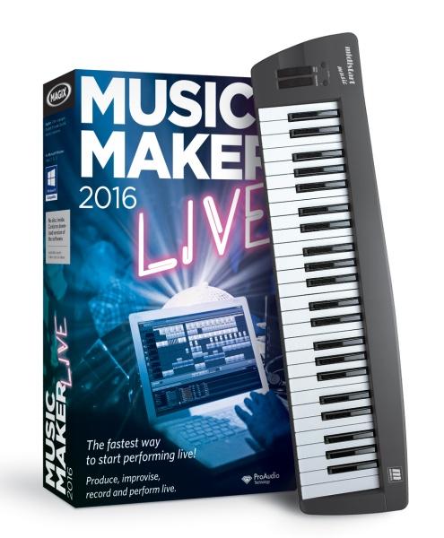 MAGIX Music Maker 2016 Control