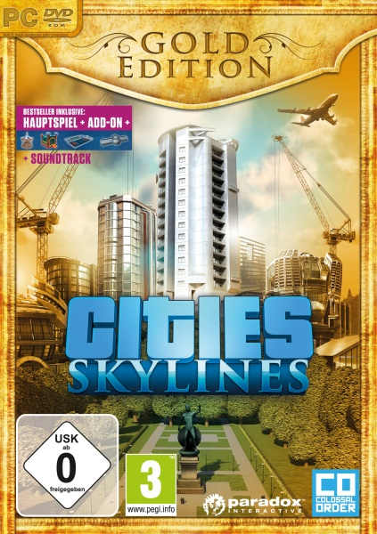 Cities: Skylines Gold Edition (PC) Englisch