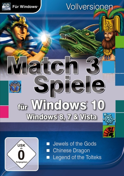MAGNUSSOFT Match 3 Spiele für Windows 10