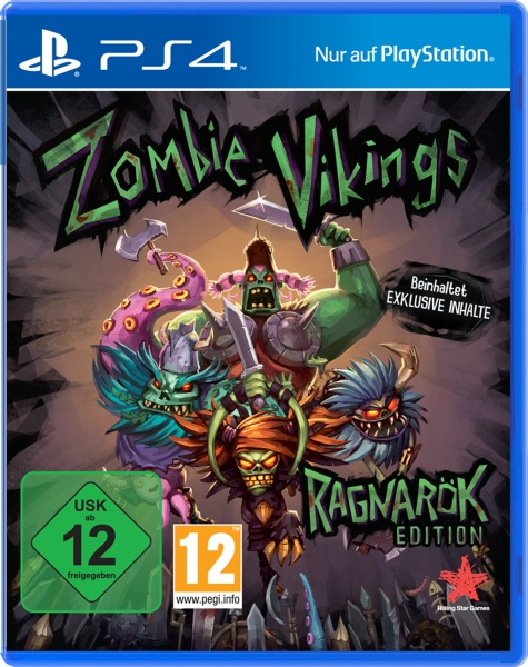 Zombie Vikings: Ragnar�k Edition (PS4) Englisch