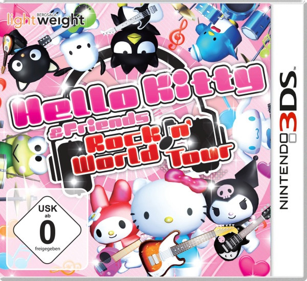 Hello Kitty & Friends: Rockin World Tour (3DS) Englisch