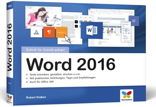 Word 2016 Schritt für Schritt erklärt
