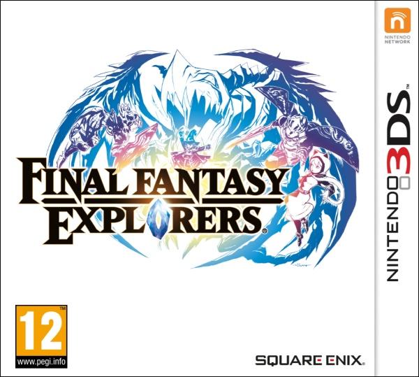 Final Fantasy Explorers (3DS) Englisch