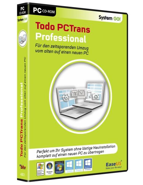 System GO! PC Trans 9.0 Professional