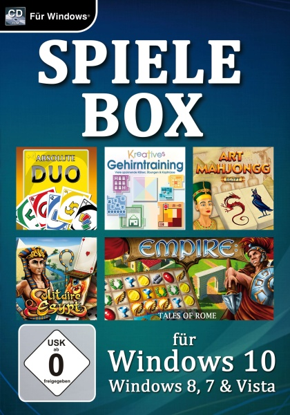 Spielebox f�r Windows 10 (PC)