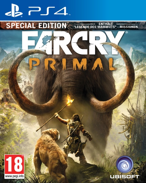 Far Cry Primal - Special Edition (100% Uncut) (PS4) (PEGI)