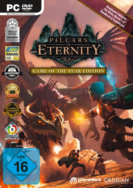 Pillars of Eternity - Game of the Year Edition (PC) Englisch