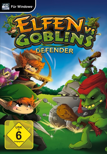 Elfen vs Goblins - Defender (PC)