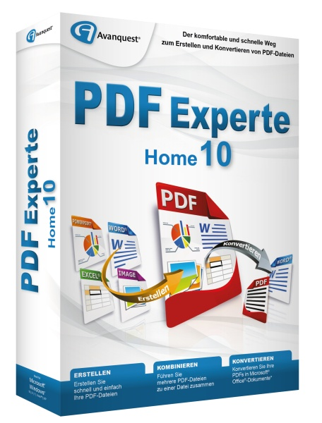 AVANQUEST ESD PDF Experte 10 Home