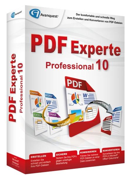 AVANQUEST ESD PDF Experte 10 Professional