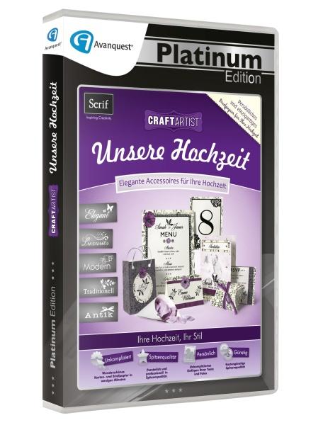 CraftArtist Unsere Hochzeit - Avanquest Platinum Edition