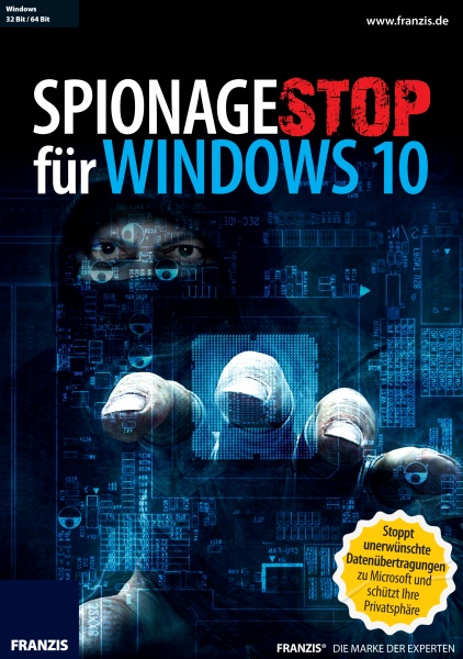 Spionagestopp f�r Windows 10