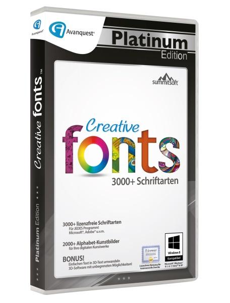Creative Fonts 5 Avanquest Platinum Edition
