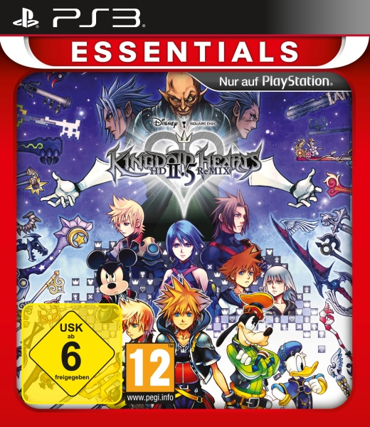 Kingdom Hearts HD 2.5 ReMIX Essentials (PS3) Englisch