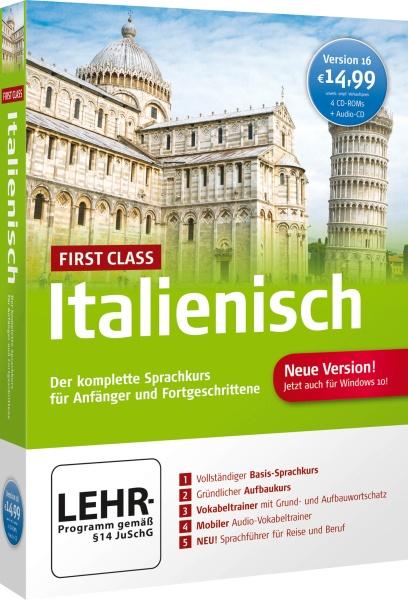 First Class Sprachkurs Italienisch 16.0