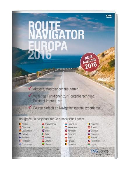 RouteNavigator Europa 2016