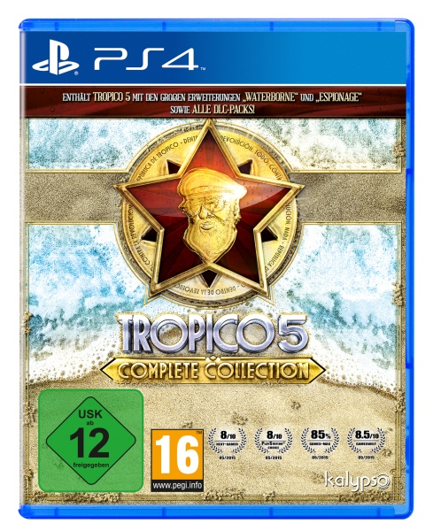 Tropico 5 Complete Collection (PS4)