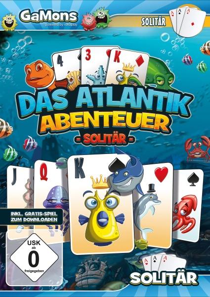 GaMons - Atlantik Abenteuer Solitär (PC)