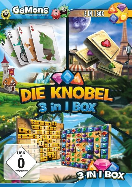 GaMons - Die Knobel 3 in 1 Box (PC)
