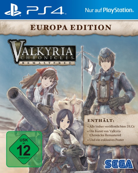 Valkyria Chronicles Remastered - Europa Edition (PS4) Englisch, Japanisch