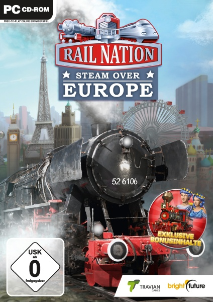 Rail Nation - Steam over Europe (PC)