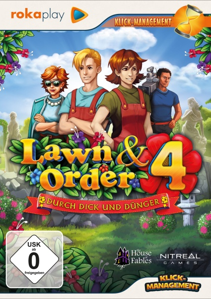 rokaplay - Lawn & Order 4 - Durch Dick und D�nger (PC)