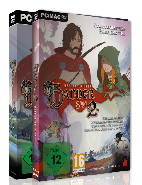 The Banner Saga 2 Collectors Edition inkl. The Banner Saga 1(PC)