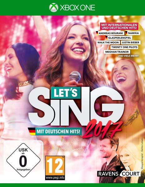 Lets Sing 2017 Inkl. Deutschen Hits (XONE)