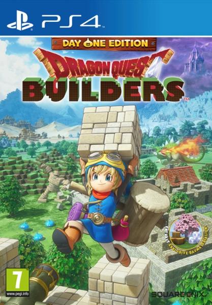 Dragon Quest Builders Day One Edition (PS4) Englisch, Japanisch