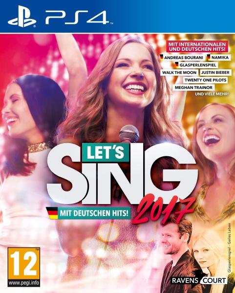 Let\s Sing 2017 Inkl. Deutschen Hits (PS4)