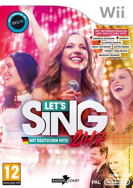 Let\s Sing 2017 Inkl. Deutschen Hits (Wii)