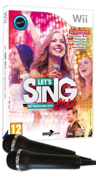Let\s Sing 2017 Inkl. Deutschen Hits (+2 Mics) (Wii)