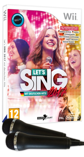 Lets Sing 2017 Inkl. Deutschen Hits (+2 Mics) (Wii)