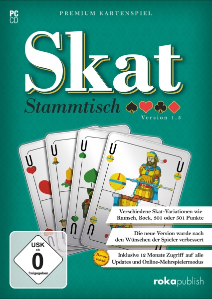 rokapublish Skat Stammstisch 1.5 PC