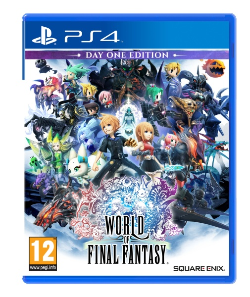 Square Enix World of Final Fantasy D1 Edition (PS4)