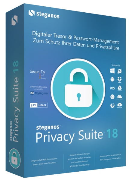 AVANQUEST ESD Steganos Privacy Suite 18