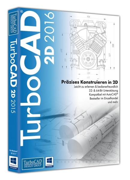 TurboCAD 2D 2016