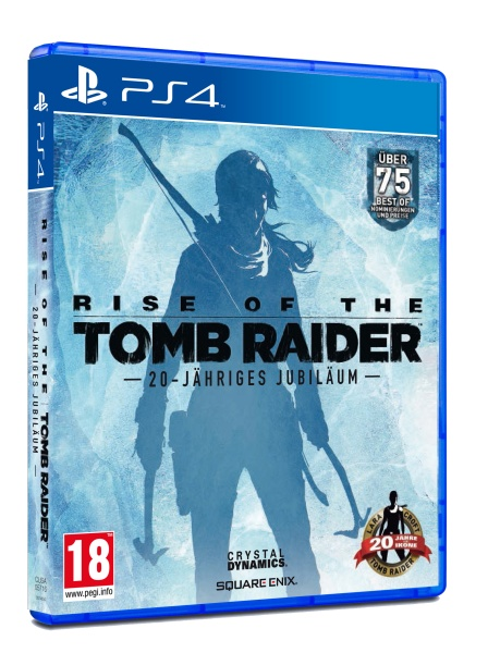 Rise of the Tomb Raider 20-Jähriges Jubiläum D1 Edition (PS4)