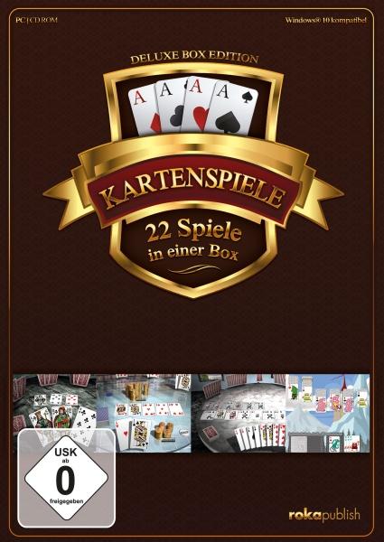 Kartenspiele 22 in 1 Box (PC)