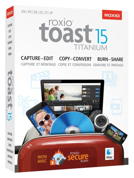 COREL Roxio Toast Titanium 15 Mini Box EU (ML)
